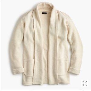 J.Crew Long open cardigan sweater